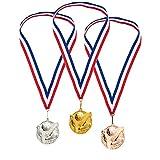 Zoom IMG-2 juvale set di medaglie premiate