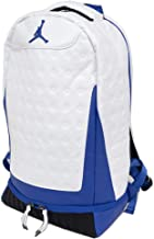 Nike Air Jordan Retro 13 Backpack (One Size, White/Hyper Royal)