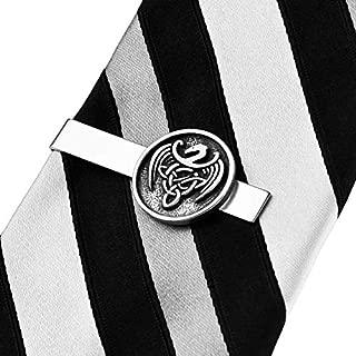 SKSK Boutons de Manchette /Époxy Boutons de Manchette Ancre Ronde Bleu Noir Caoutchouc Or et Argent Boutons de Manchette Ancre Cravate Clip Set 2PC