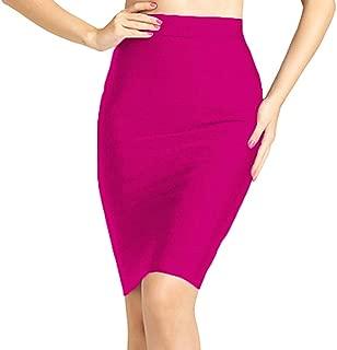 Knee Length High Waist Sexy Pencil Skirt