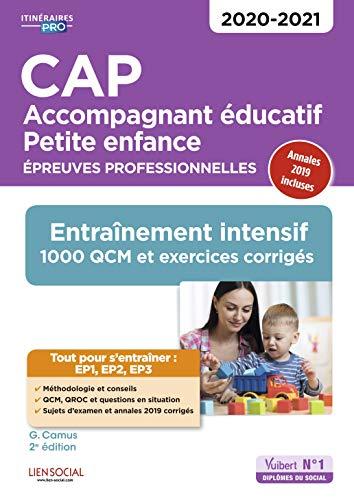 CAP Accompagnant éducatif Petite enfance - Entraînement - Epreuves professionnelles - Sessions 2020-2021