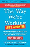 The Way We're Working Isn't Working: The Four Forgotten Needs That Energize Great Performa...
