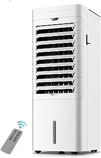Aire Acondicionado Portátil Refrigeración for Habitaciones Ventilador Deshumidificador Temporizador Control Remoto Ruedas Ventilación de La Ventana con Pantalla Táctil Inteligente LCD