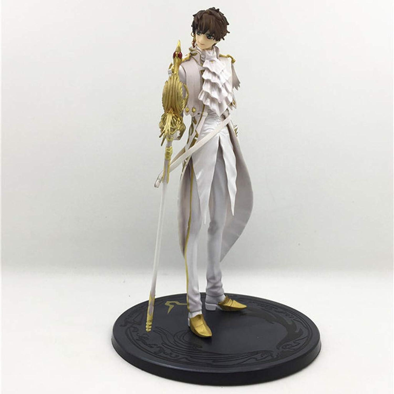 Entrega gratuita y rápida disponible. QYSZYG Estatua De Juguete Modelo De Juguete Juguete Juguete Ornamento Exquisito Decoración Coleccionables Regalo De Cumpleaños 23CM (Color   blancoo)  punto de venta