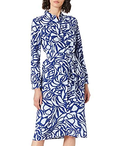 Street One Damen 142916 Kleid, Eclipse Blue, 42