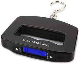 Kiki Mall Portable LCD Digital Luggage Hook Scale 50kg/10g