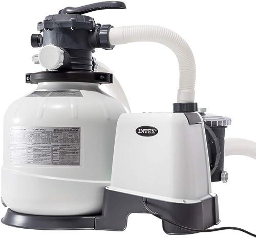 INTEX - 2800 GPH Filtre à sable (220-240 Volt)
