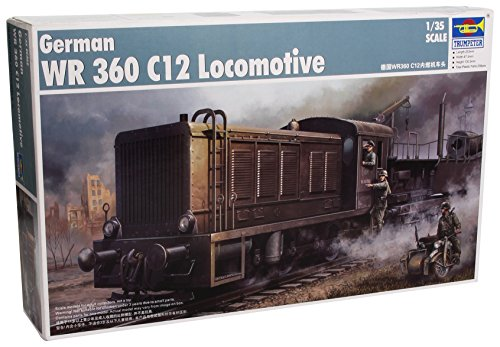 Trumpeter 00216 Modellbausatz German WR 360 C12 Locomotive