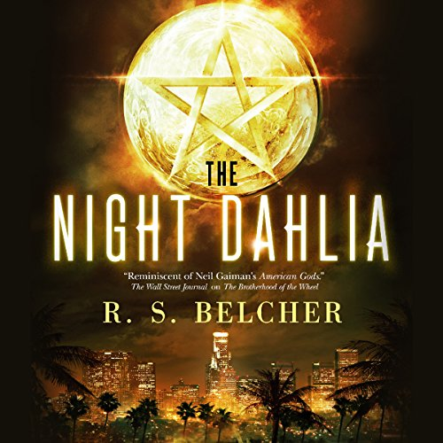 The Night Dahlia audiobook cover art