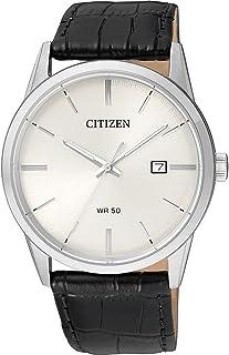 ساعت مچی مردانه بند چرمی مدل BI5000-01A مجهز به موتور کوارتز و محصول برند CIRIZEN.