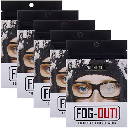Xinstroe Anti-Beschlag-Tücher, Brillen-Reinigungstücher, Mikrofaser, Objektiv-Reinigungstücher, wiederverwendbare Reinigungstücher für Brillen, Tablets, Kamera-Objektive, Bildschirme (5 Packungen)