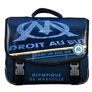 Olympique de Marseille Cartable Mixte Enfant, Bleu, 41 cm 4