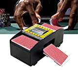10. SPGHOME Automatic Poker Card Shuffler Electronic Poker Card Shuffling Machine Battery Operated Cards Playing Tool for Casino Poker