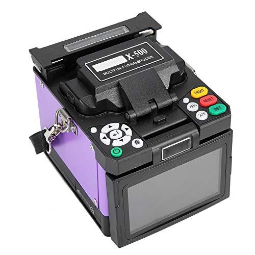 Empalmador de fusión de fibra óptica automática LCD 18 segundos Máquina de empalme de...
