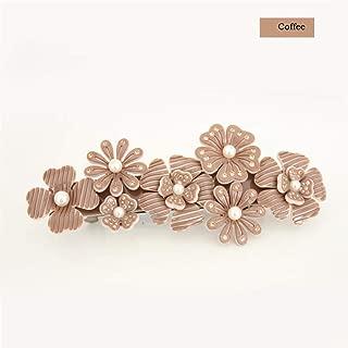 Cellulose Acetate Rhinestone Cheap Wedding Bridal Hair Accessories Jewelry Ornament Tiara Headband Hand UK For Women Coffee
