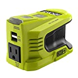 RYOBI 150-Watt Powered Inverter Generator, with 2 USB Ports and One 120-Volt Outlet, Compact,Lightweight, and Convenient On-The-Go Power Source