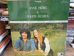 Annie Nobel et Philippe Richeux : chroniques terriennes disque MN Edition 10.021