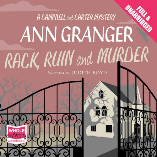 Rack, Ruin and Murder audiobook cover art