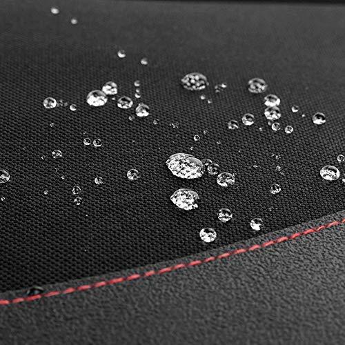 Rollibot チャイルドシート 保護マット 車 シートカバー 座席保護 シートプロテクター 滑り止め ブラック