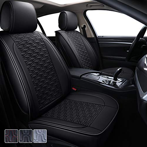 Seat Covers for Cars Leather Trucks SUV Waterproof Car Seat Covers Seat Protector for Efficient Dog Hair Cleaning No Need to Lift or Disassemble Back Seat