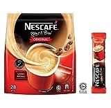 Nestle Malaysia 3 in 1 Nescafe Café Instantáneo Coffee Original Instant Kopi Rich Aroma Halal Breakfast 1 Pack (28 sachets)