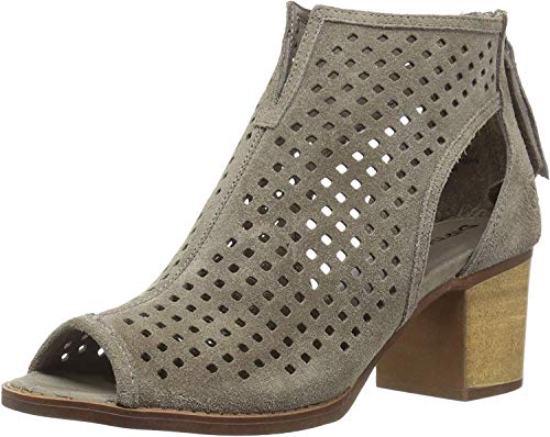 Dirty Laundry womens Tessa Ankle Boot, Grey Split Suede, 5.5 US