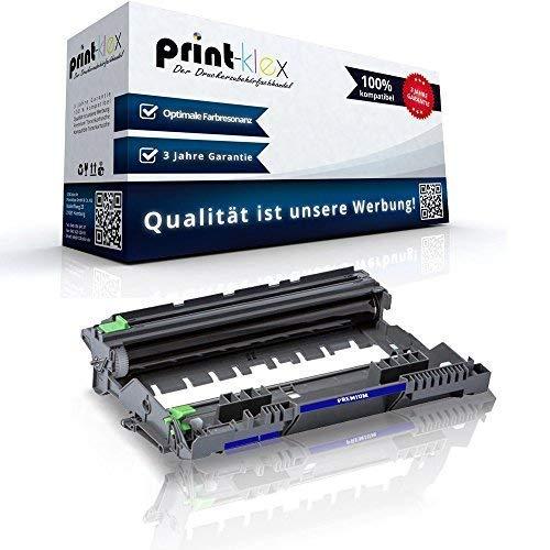 Print-Klex Trommeleinheit kompatibel für Brother MFC-L 2710 DN MFC-L 2710 DW MFC-L 2712 DN MFC-L 2712 DW DR 2400 DR-2400 DR2400 Bild Einheit Farblos - Office Print Serie