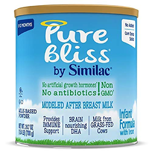 Pure Bliss by Similac Infant Formula, Modeled After Breast Milk