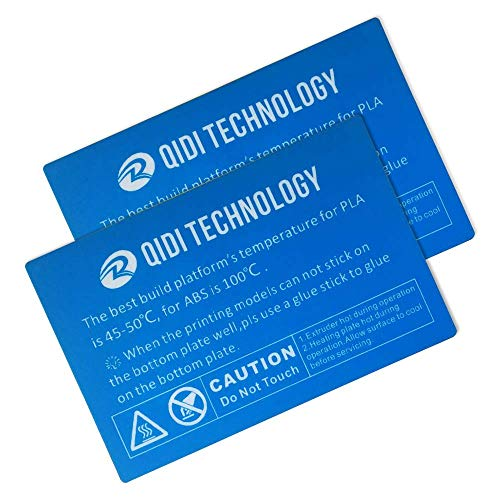Platform Sticker for QIDI TECH I 3D Printer: 2 pcs