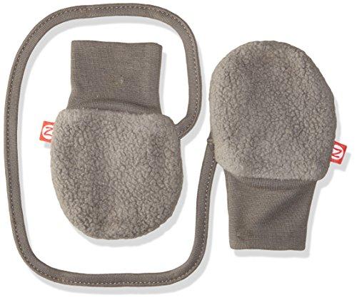 Zutano Unisex Baby Cozie Lined Mitten (Baby) - Gray - One Size