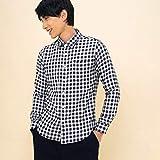 エーグル(AIGLE) ブゾン リバーシブルL/Sシャツ【ネイビー/L】