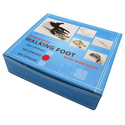 Review KUNPENG - #P60445 1SET Even Feed Walking Foot FIT for BERNINA Old Style 730,801,807,830,900,9...
