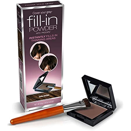 Cover Your Gray Fill In Powder - Dark Brown (Pack of 2)