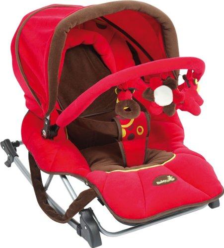 Babymoov A012006 - Kompakter Wipper-Sitz Komplett himbeer