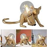 Lámpara de ratón, lámpara de Mesa, para Dormitorio, lámpara de mesita de Noche, decoración para el hogar, luz Decorativa para el día de San Valentín, Navidad, Pascua, Halloween, Aniversario