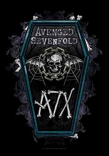 Avenged Sevenfold – Coffin – poster drapeau 100% polyester – 75 x 110 cm