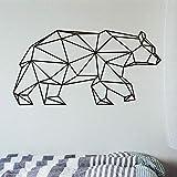 Adhesivos De Pared Para Habitación De Niños Patrones Geométricos Animales Tatuajes De Pared Origami Living Room Dormitorio Decoraciones 42X81Cm