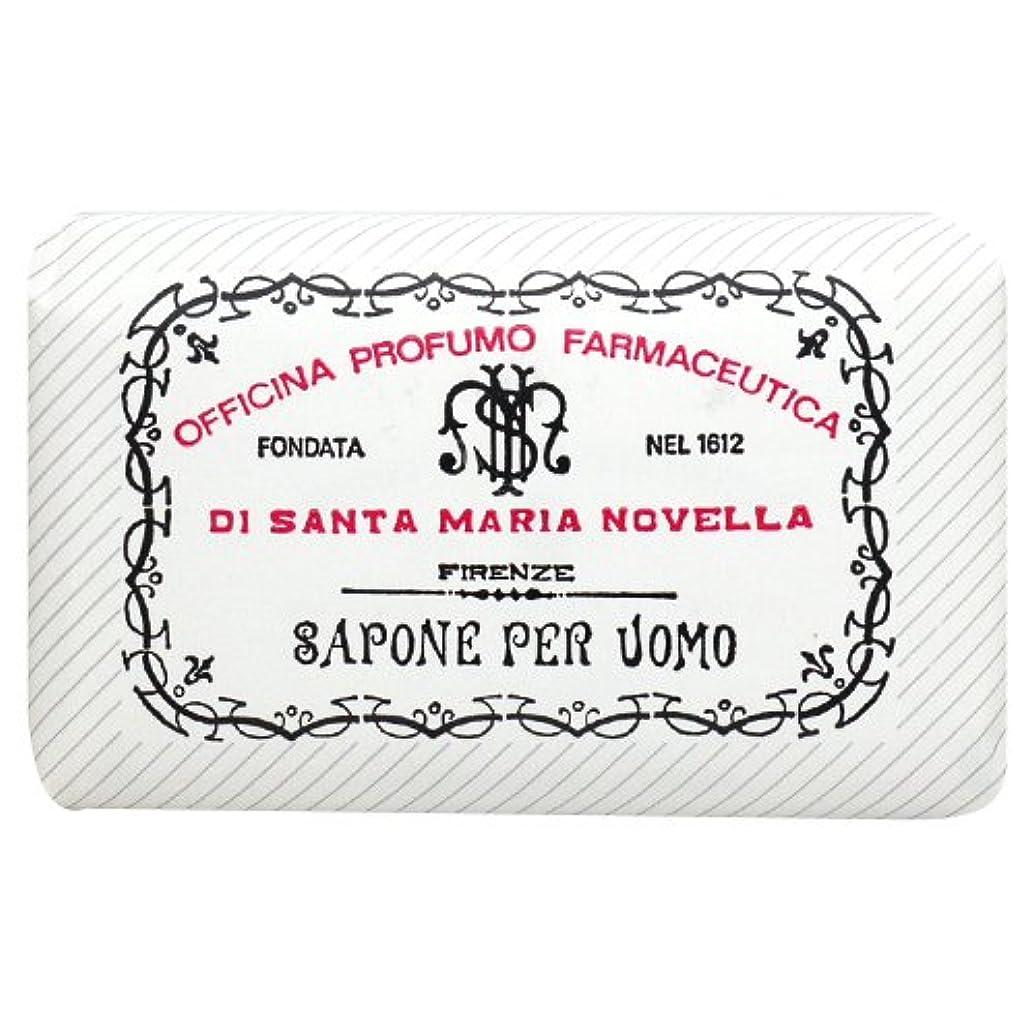 スラム街省略発表サンタ マリア ノヴェッラ Santa Maria Novella メンズソープ ベティベール 130g