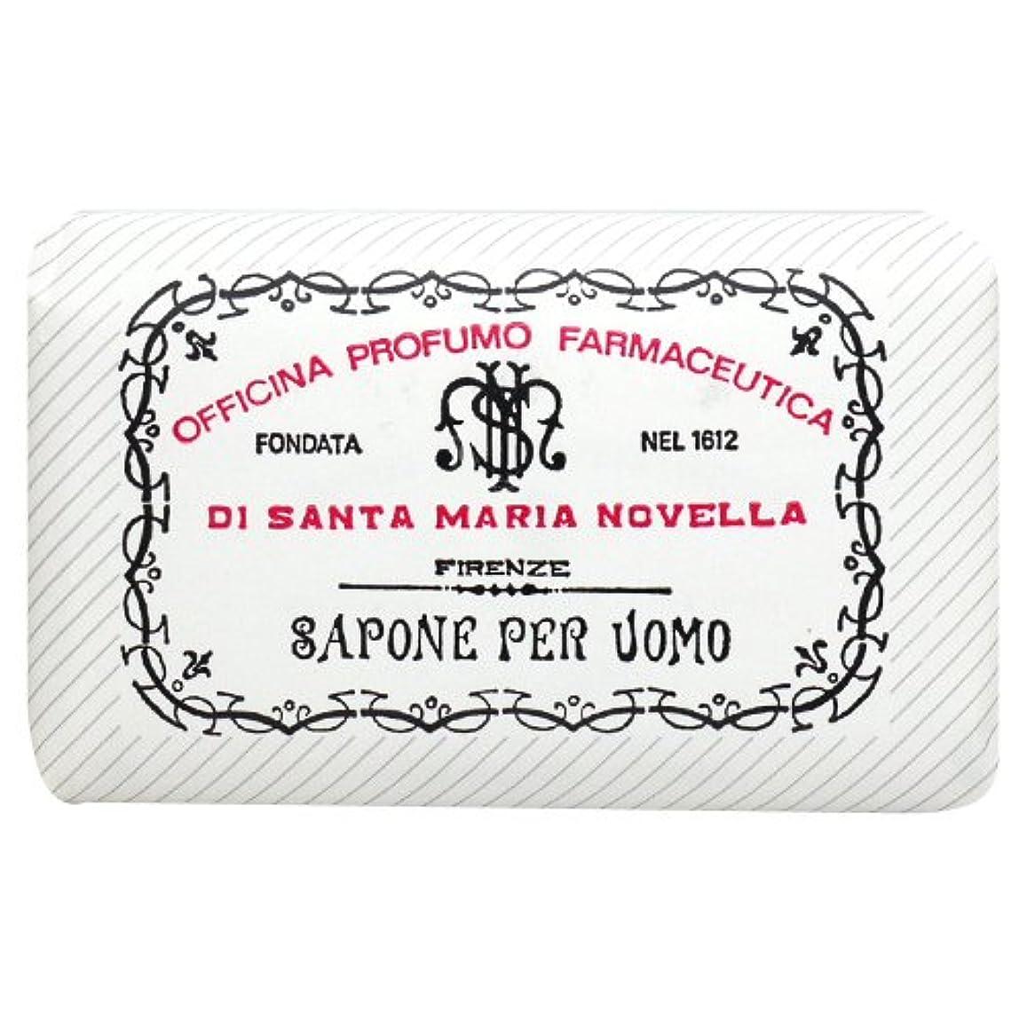 ミス魔術きつくサンタ マリア ノヴェッラ Santa Maria Novella メンズソープ ベティベール 130g