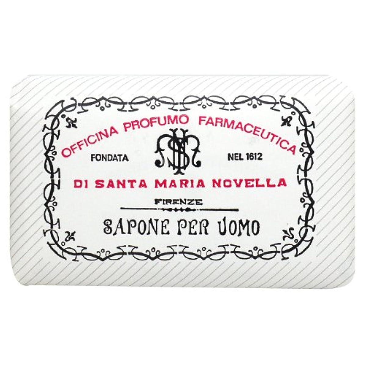 葉っぱ恐怖保持するサンタ マリア ノヴェッラ Santa Maria Novella メンズソープ ベティベール 130g