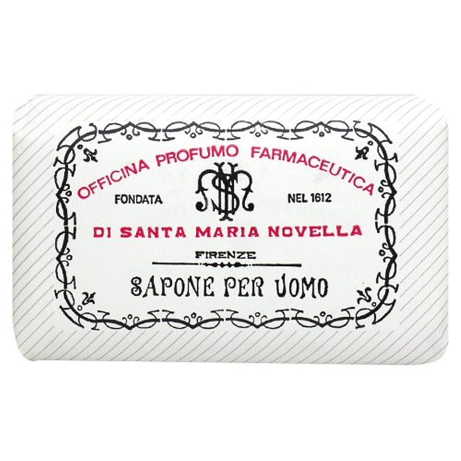 共役知人邪悪なサンタ マリア ノヴェッラ Santa Maria Novella メンズソープ ベティベール 130g