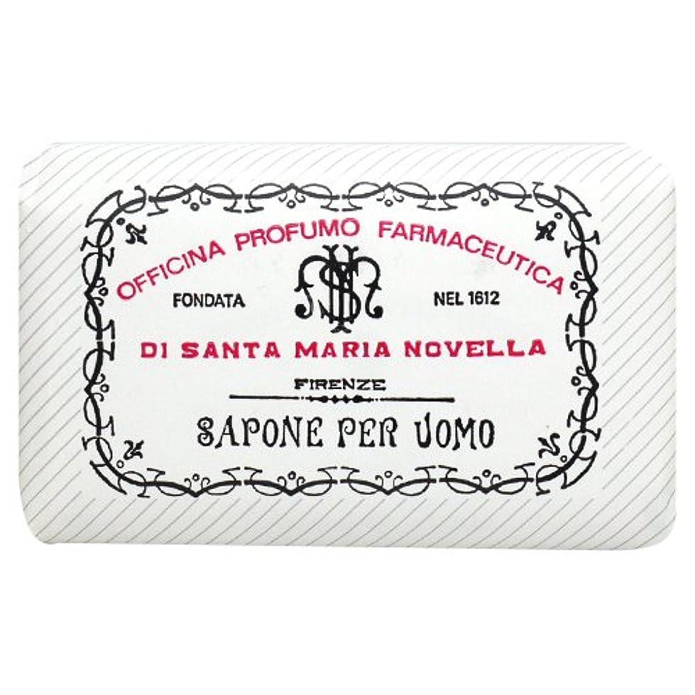 メイド拾う備品サンタ マリア ノヴェッラ Santa Maria Novella メンズソープ ベティベール 130g