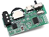 ERH India Bluetooth FM USB AUX Card MP3 Stereo Audio Player for DIY Mini Boom Box 5 W