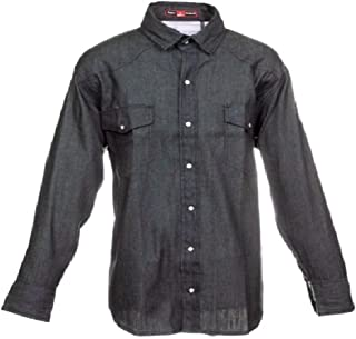 Just In Trend Flame Resistant FR Denim Shirt - 100% C - 7 oz