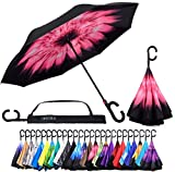 Best Brella Umbrellas - Reverse Inverted Inside Out Umbrella - Upside Down Review
