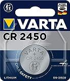 VARTA Batterien Electronics CR2450 Lithium Knopfzelle 1er Pack Knopfzellen in Original 1er Blisterverpackung