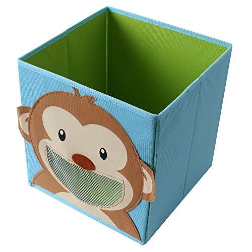 TE-Trend Faltbox Spielbox Tiermotiv AFFE Aufbewahrung Spielzeug Spielzimmer