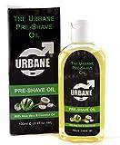 Urbane Men Pre-Shave Oil for Manual & Electric 100ml (Aloe Vera & Coconut Oil)