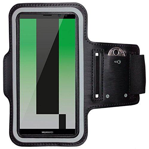 CoverKingz Huawei Mate 10 Lite Brazalete Deportivo Fitness móvil Correr de Pulsera Unidad de Funda Case de Running Negro Gym Fitness-Brazalete