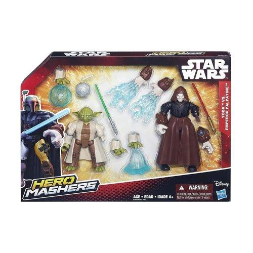 Hasbro B3827EU4 - Star Wars Hero Mashers Battle Packs, sortiert